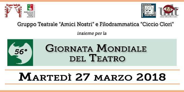 56 giornata mondiale del teatro a castellana grotte for Giornata mondiale del bacio 2018