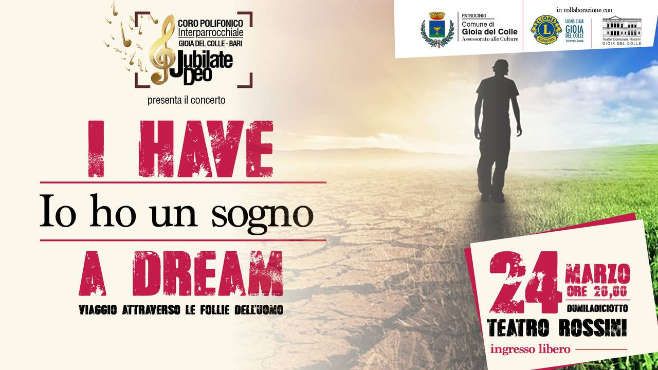 i have a dream io ho un sogno