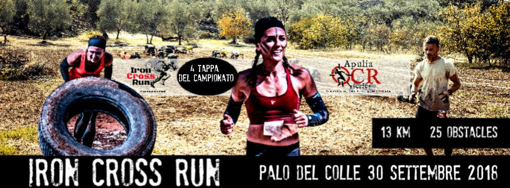 iron cross run 2018 palo del colle bari