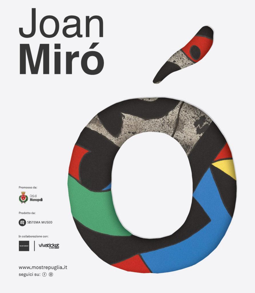 joan miro opere grafiche mostra monopoli castello carlo v