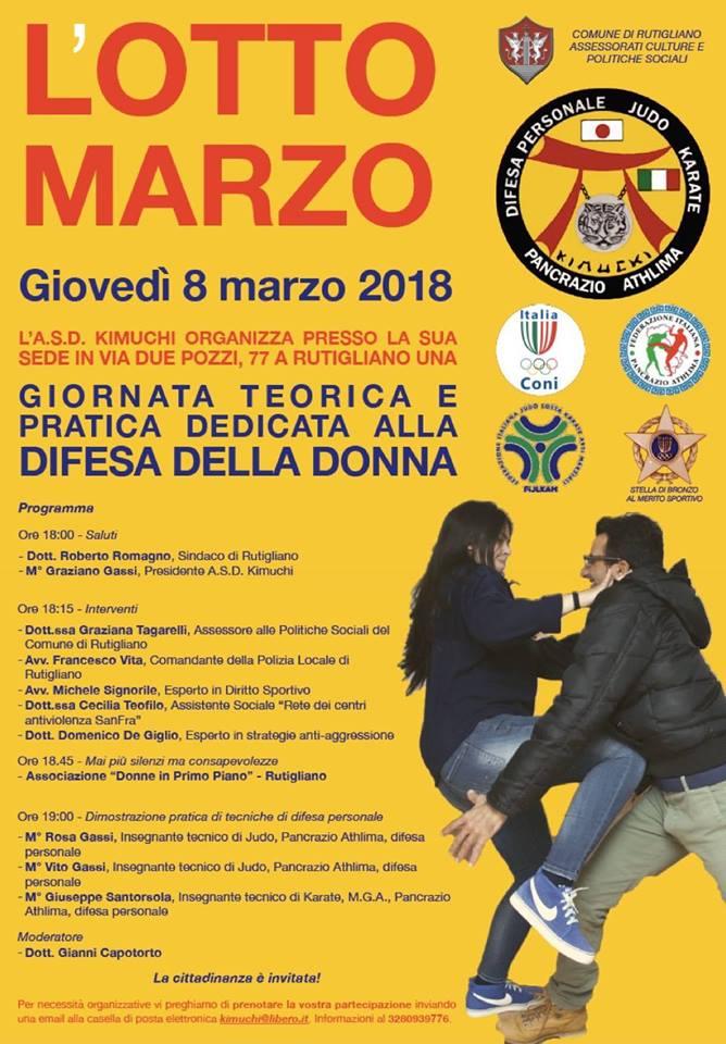 l otto marzo giornata difesa della donna rutigliano
