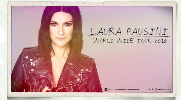 laura pausini world wide tour 2018 bari palaflorio