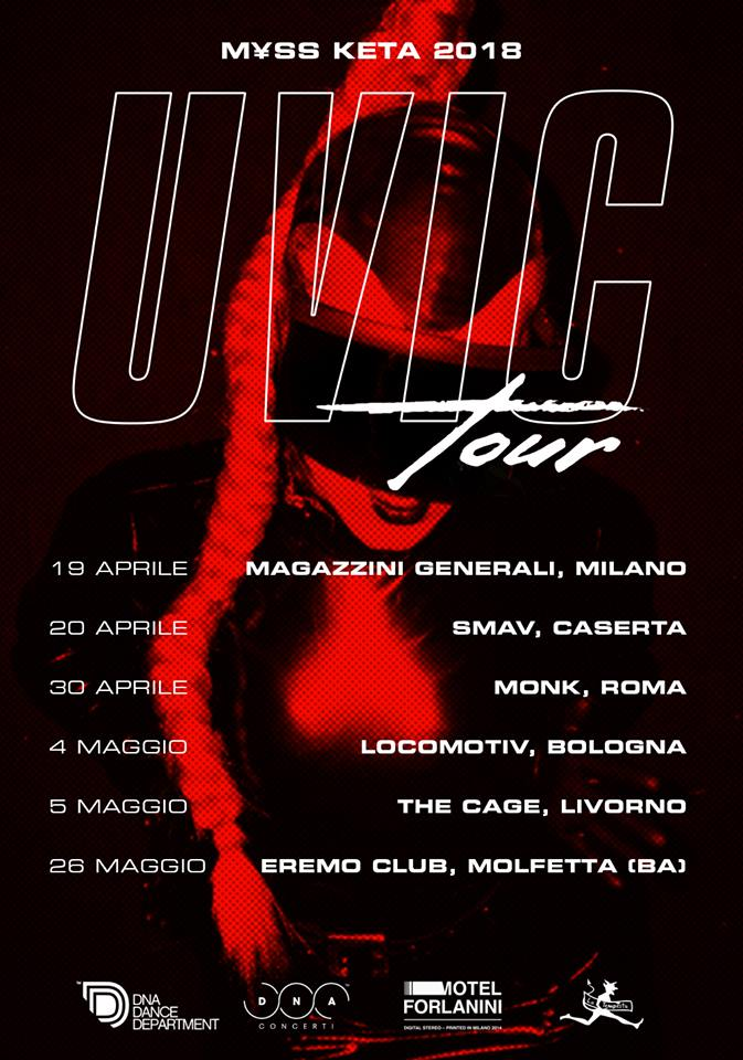 myss keta uvic tour 2018 molfetta