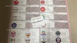 Scheda elettorale amministrative