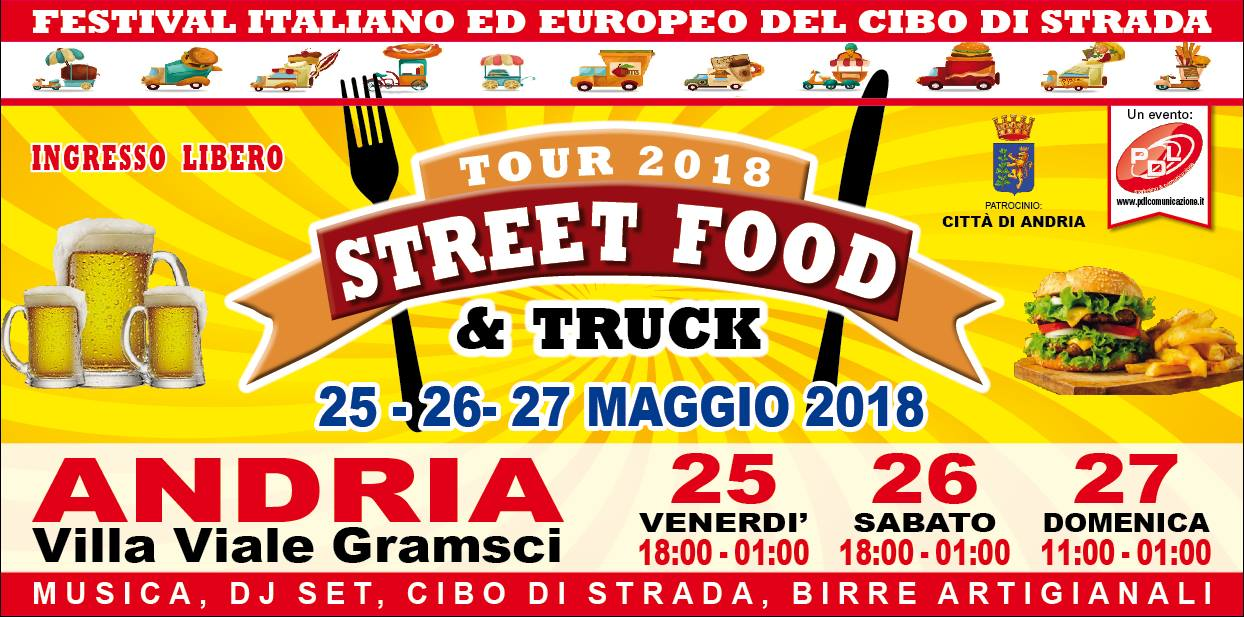 street food e truck andria 2018