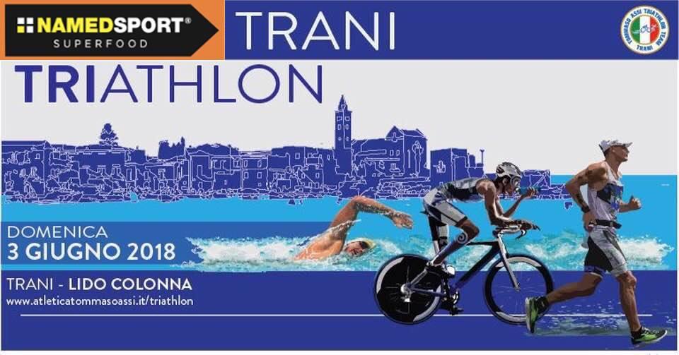 trani triathlon sprint distance 2018