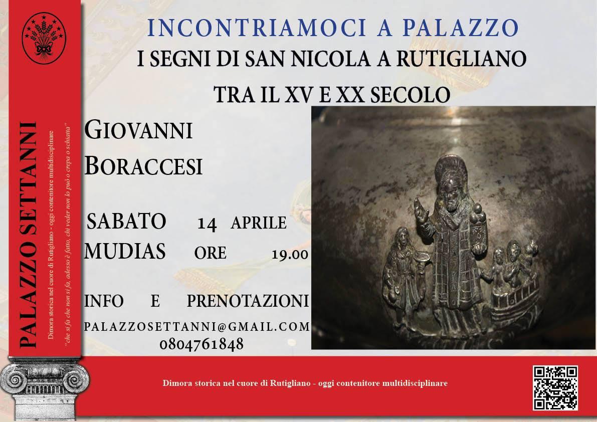 I Segni di San Nicola a Rutigliano tra il XV e XX Secolo