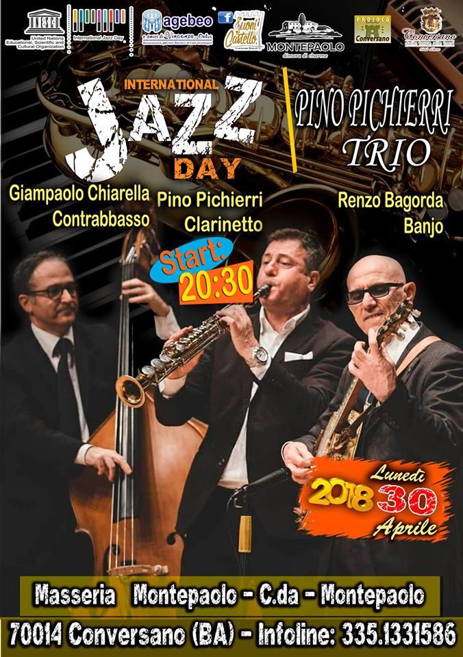 International Jazz Day Pino Pichierri Jazz Trio