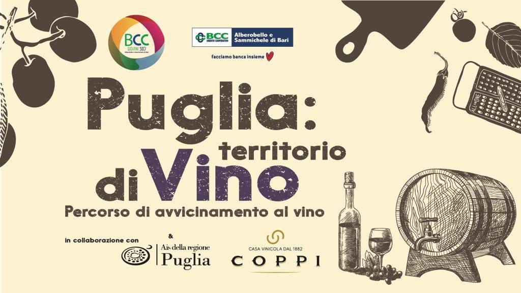 Puglia territorio diVino Percorso di avvicinamento al vino