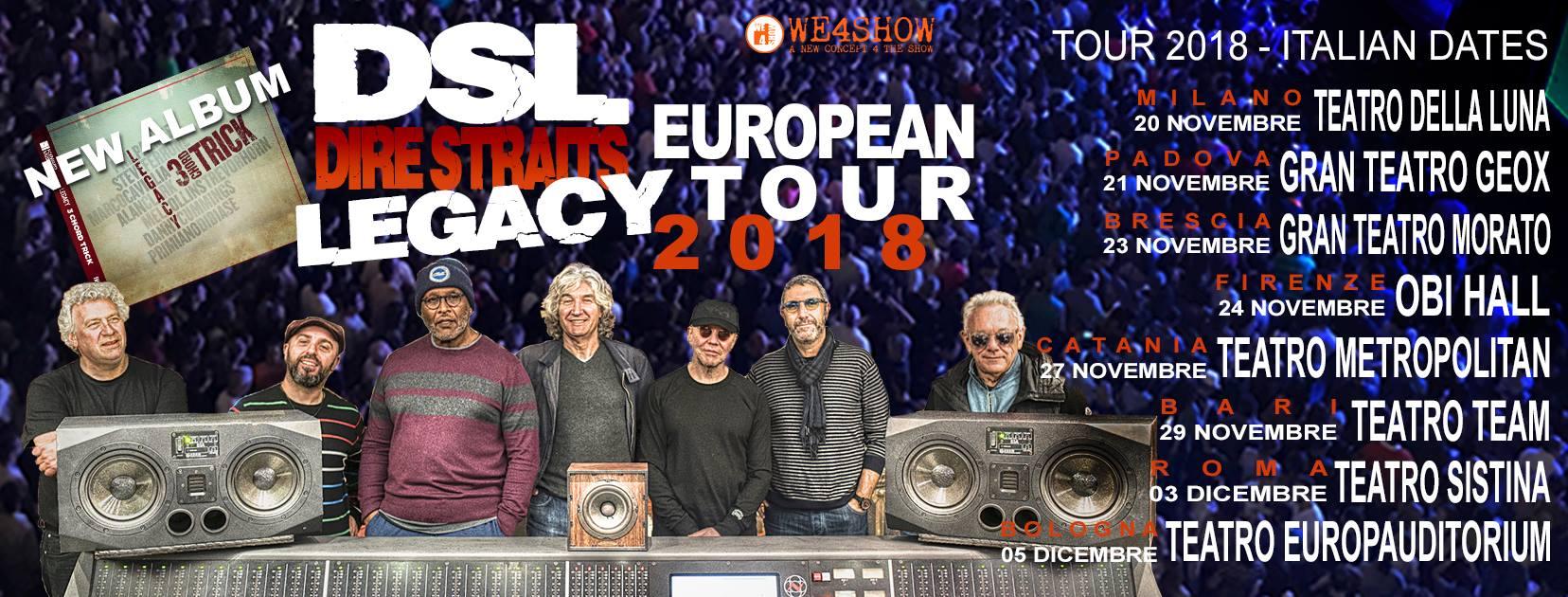 dsl dire straits legacy tour 2018 european