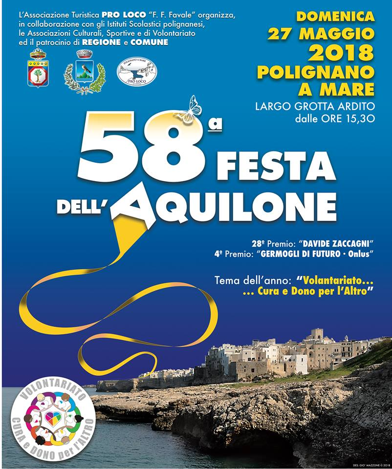 58 festa dell aquilone polignano a mare 2018