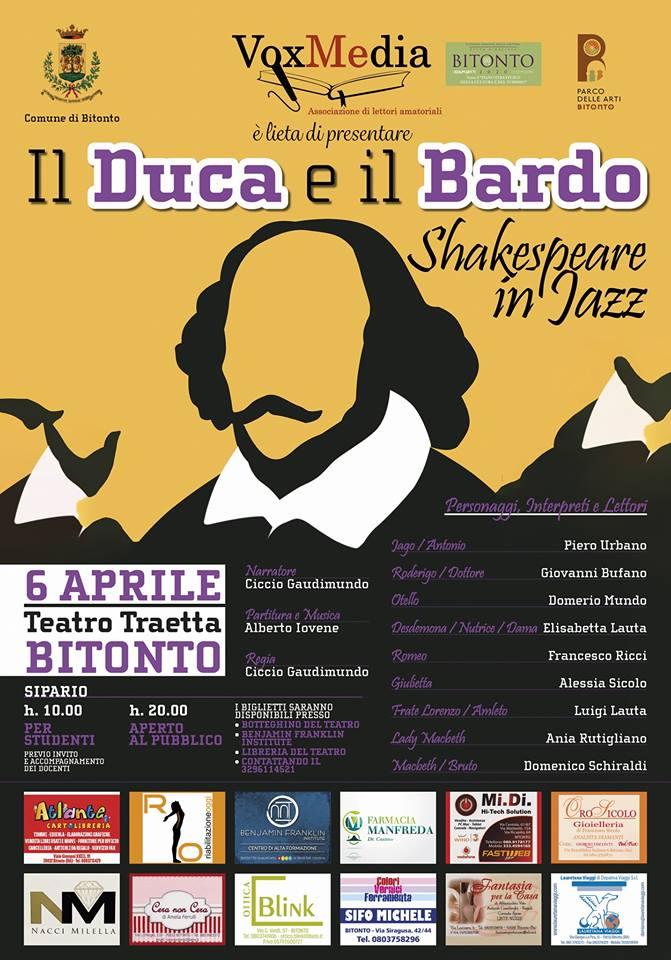 il duca e il bardo shakespeare in jazz