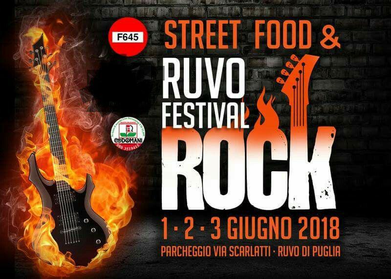 Ruvo Festival Rock Street Food