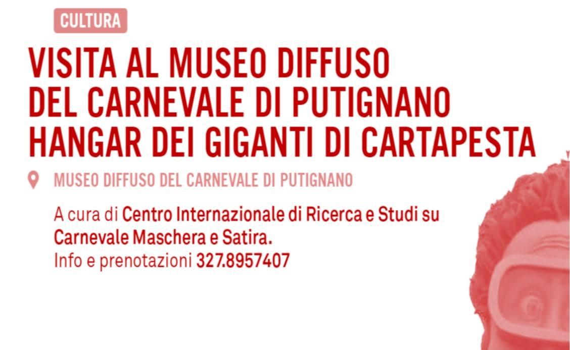 visita al museo diffuso del carnevale di putignano