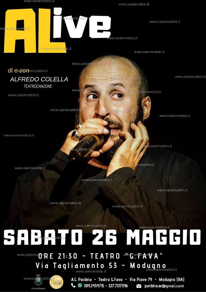 ALive show di Alfredo Colella
