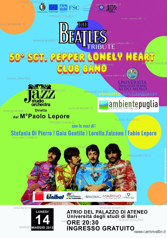 Concerto per lambiente 50 Sgt Pepper Lonely Heart Club Band