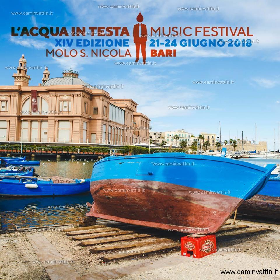 LAcqua in Testa Music Festival 2018