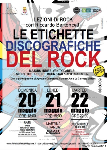 Lezioni di Rock con Riccardo Bertoncelli
