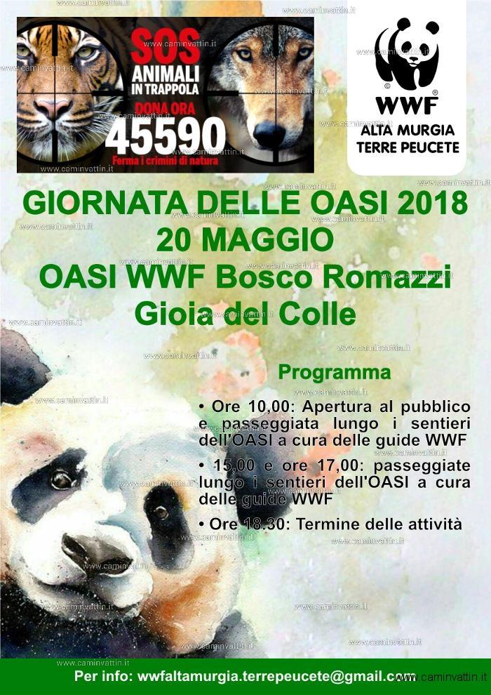 Giornata OASI WWF 2018 a Gioia del Colle