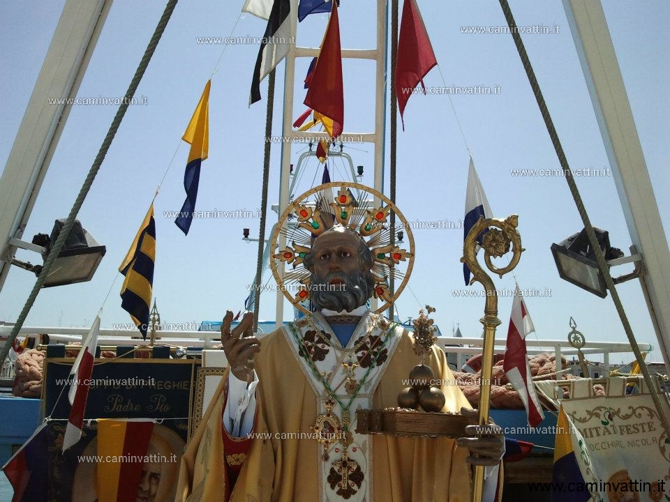 San Nicola imbarco processione santo Spirito