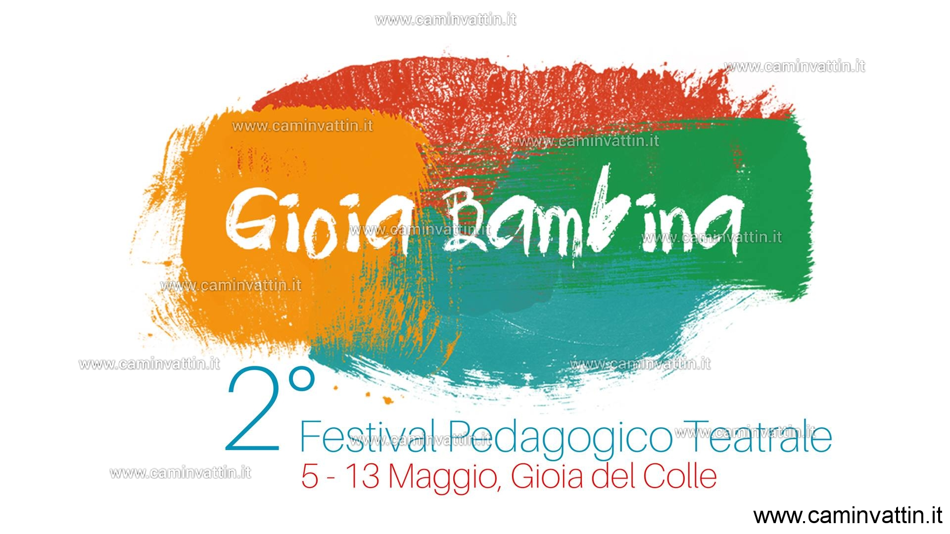 gioia bambina festival pedagogico teatrale