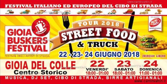 gioia del colle street food festival