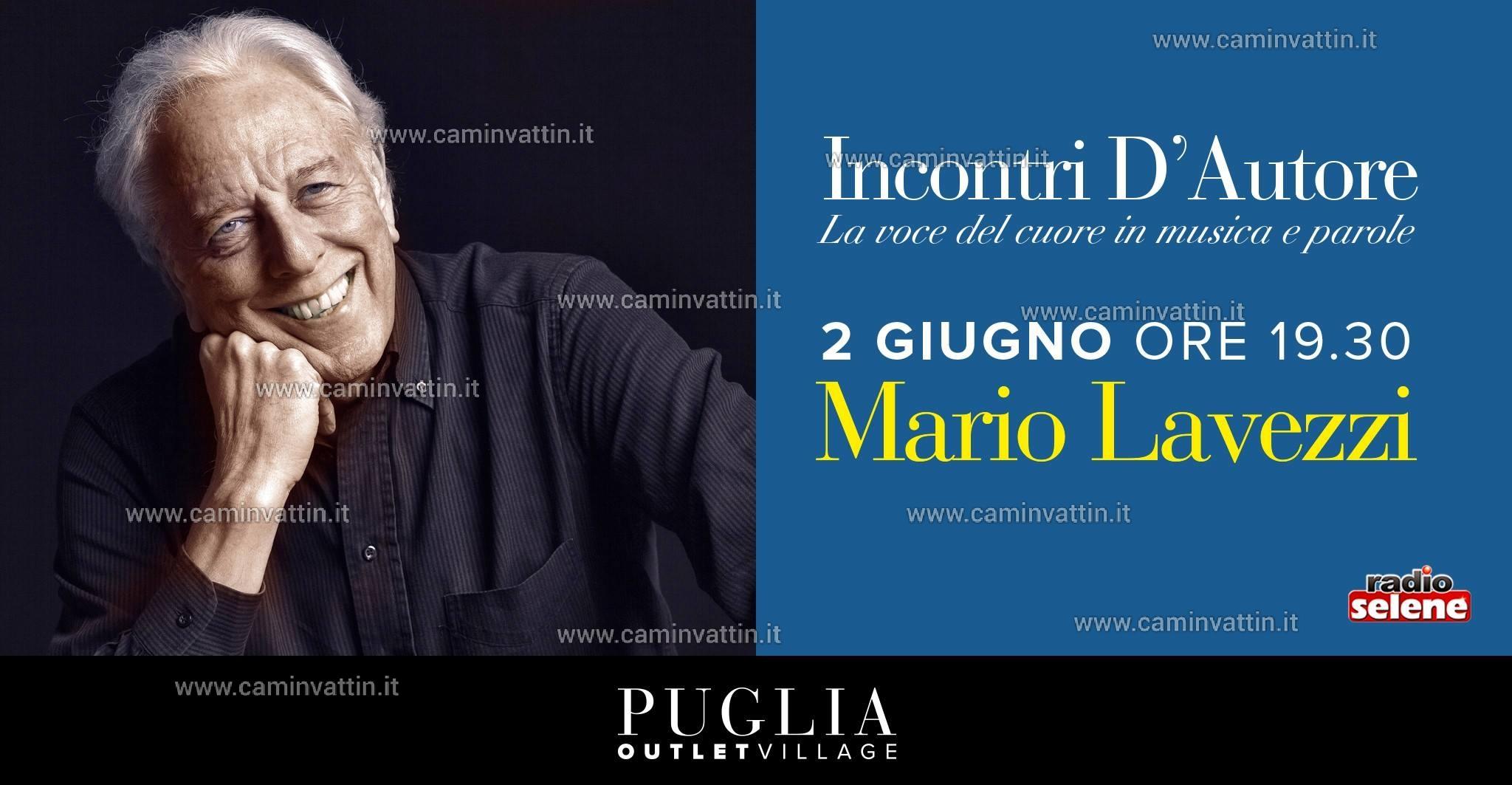 MARIO LAVEZZI in concerto al Puglia Outlet Village di Molfetta ...