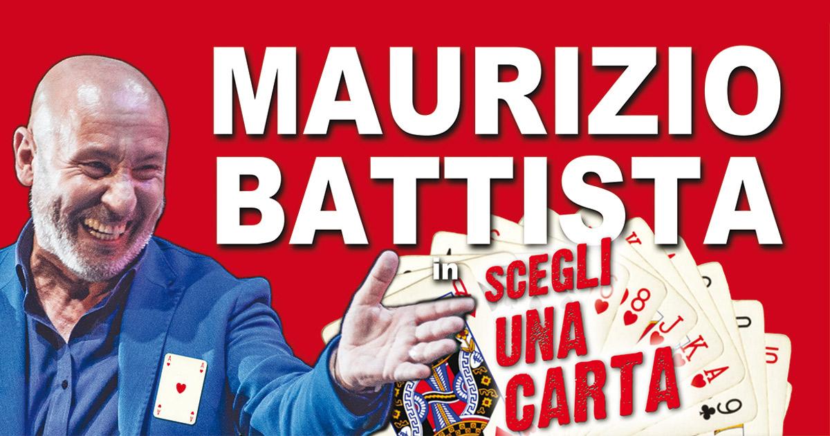 maurizio battista scegli una carta teatro team