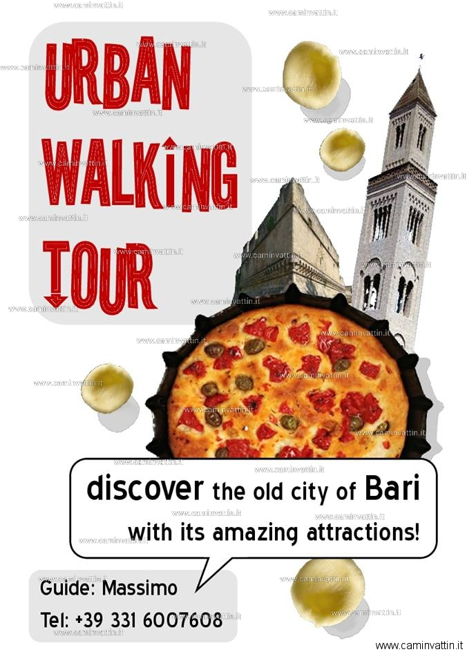 urban walking tour bari