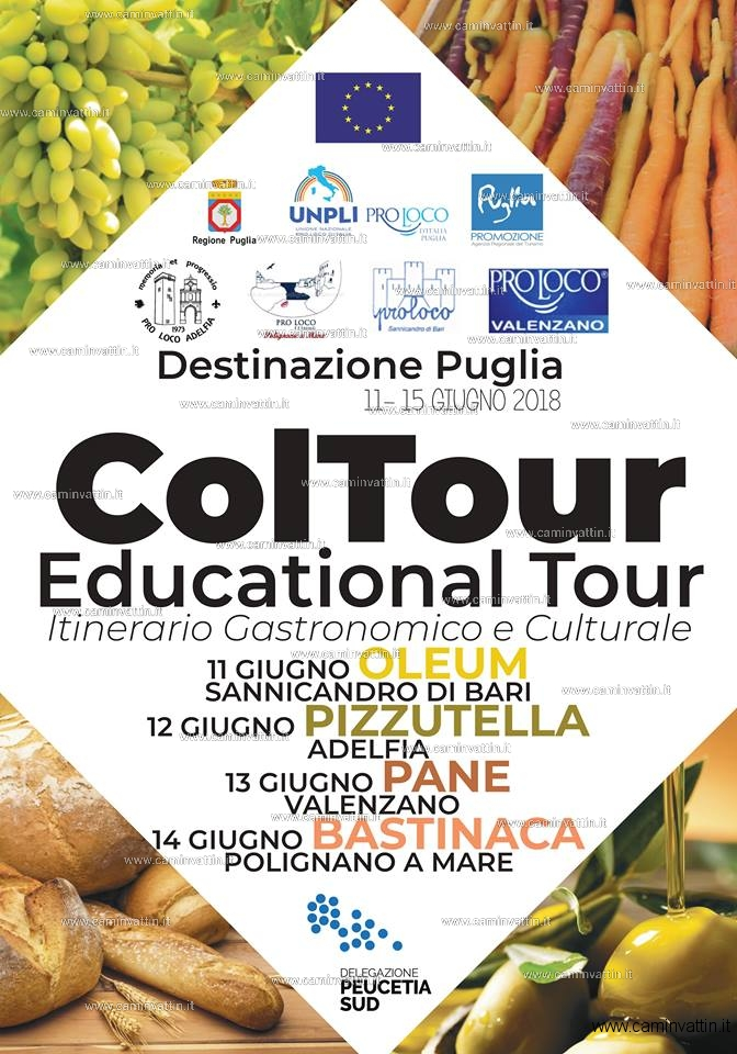 coltour 2018 educational tour