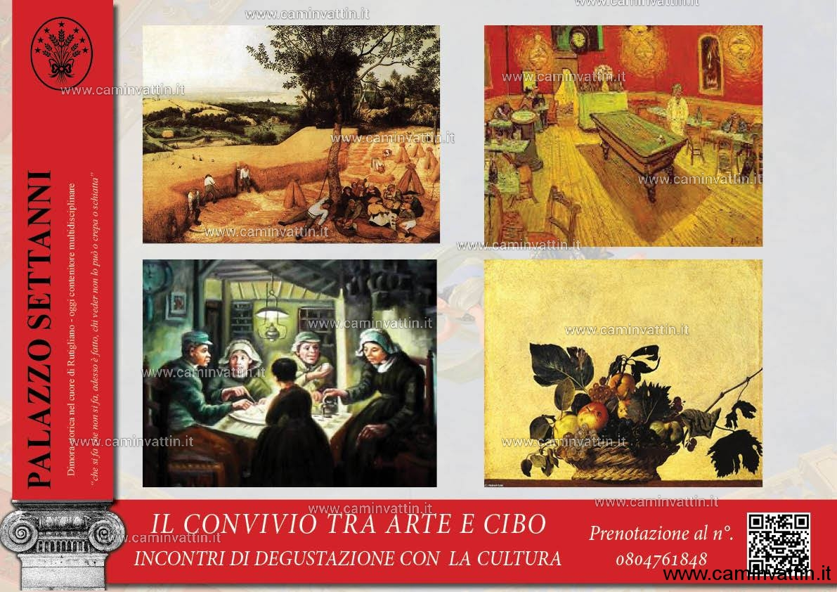 il Convivio tra Arte e Cibo a Palazzo Settanni