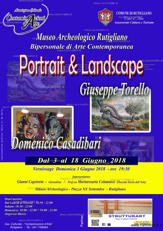 portrait e landscape mostra rutigliano