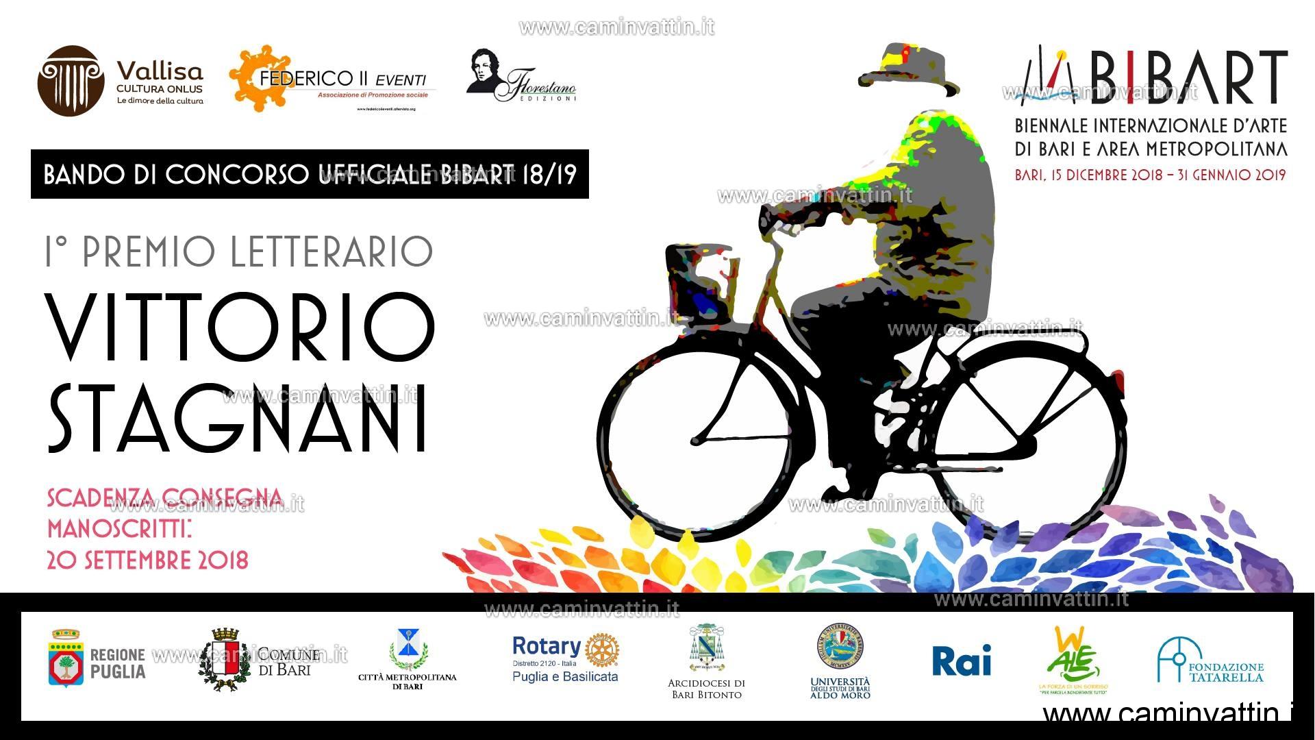 primo Premio Letterario Vittorio Stagnani Bando Bibart 2018