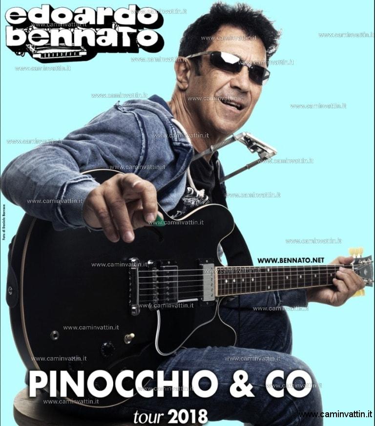 EDOARDO BENNATO Pinocchio e co Tour bari teatro team