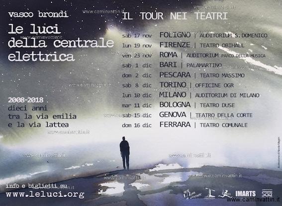 LE LUCI DELLA CENTRALE ELETTRICA tour 2018