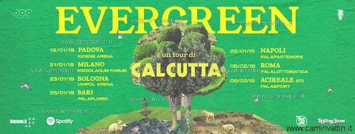 calcutta evergreen tour 2019