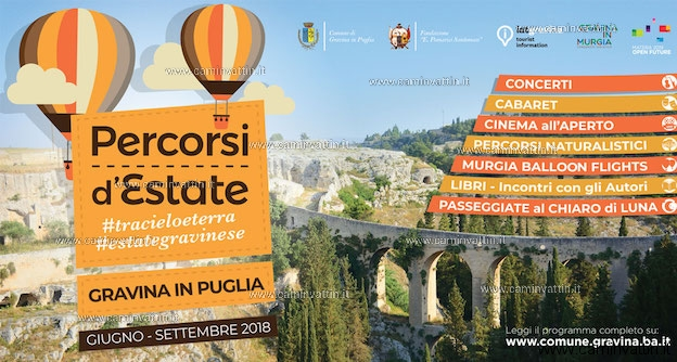 estate gravinese 2018 gravina in puglia