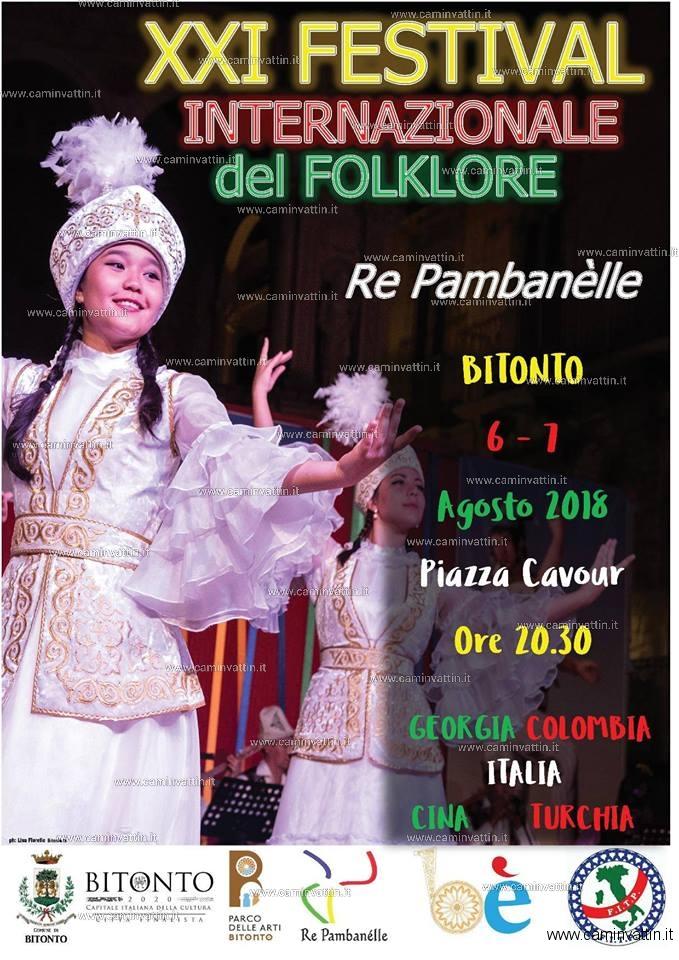 festival internazionale del folklore bitonto 2018