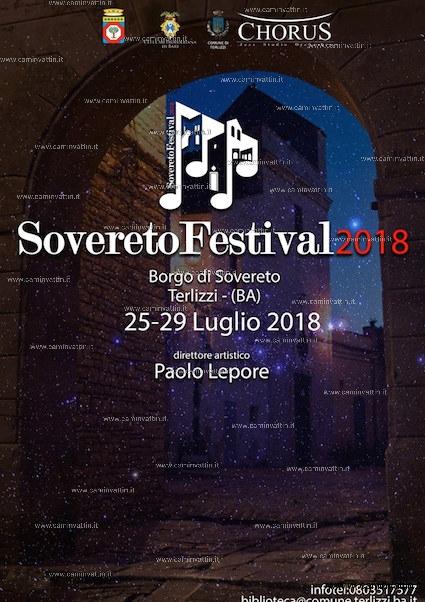 sovereto festival 2018
