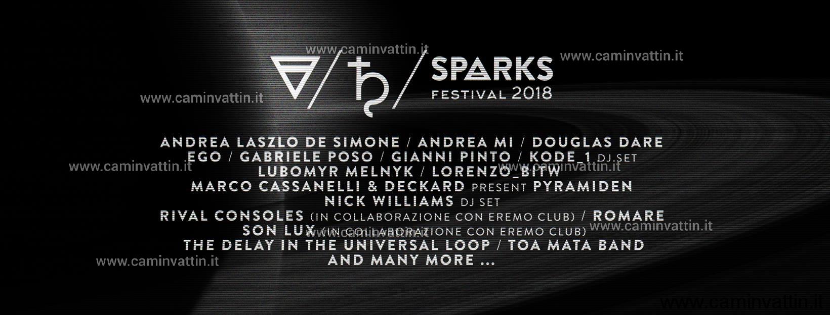 sparks festival 2018