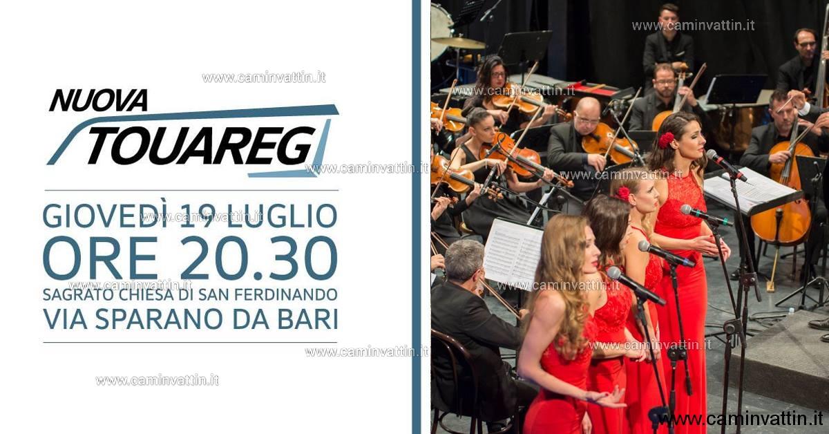 via Sparano concerto Orchestra Magna Grecia