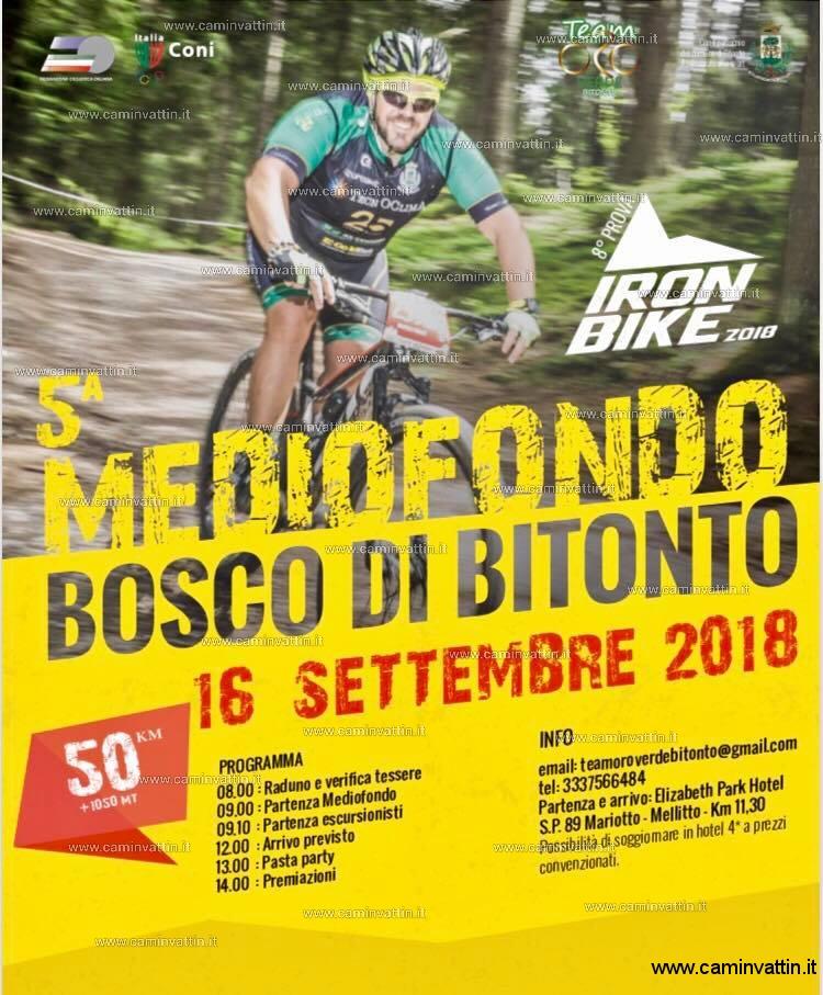 Medio Fondo Bosco di Bitonto 2018