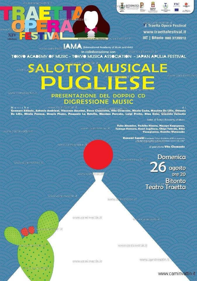 Salotto Musicale Pugliese teatro traetta bitonto