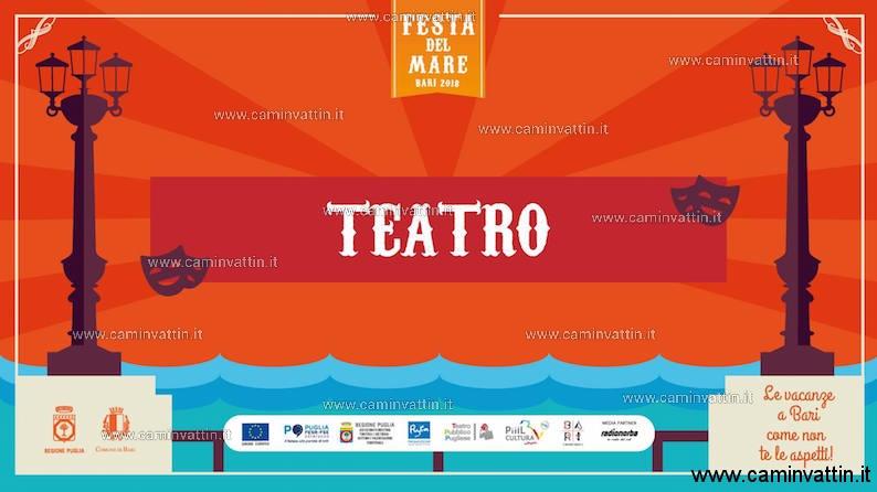 Teatro a Santo Spirito Festa del Mare Bari