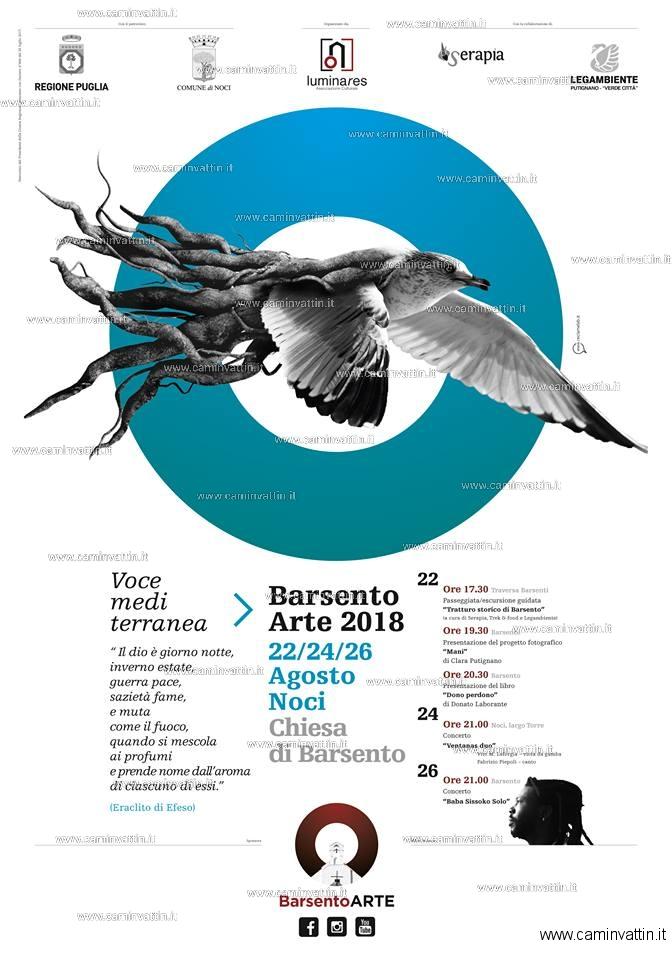 BarsentoARTE 2018 Voce Mediterranea