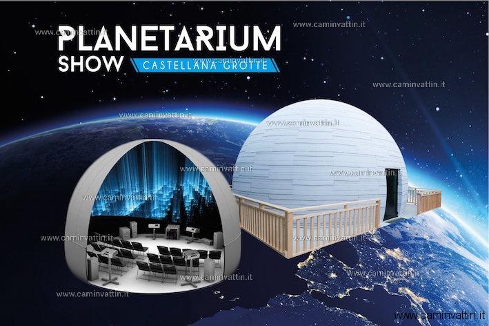 planetarium show castellana grotte