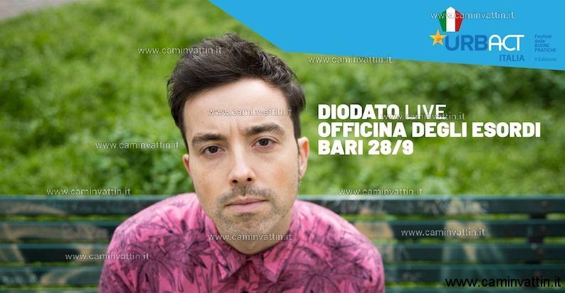 ANTONIO DIODATO in concerto gratuito a Bari Officina degli Esordi