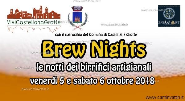 Brew Nights le notti dei birrifici artigianali castellana grotte