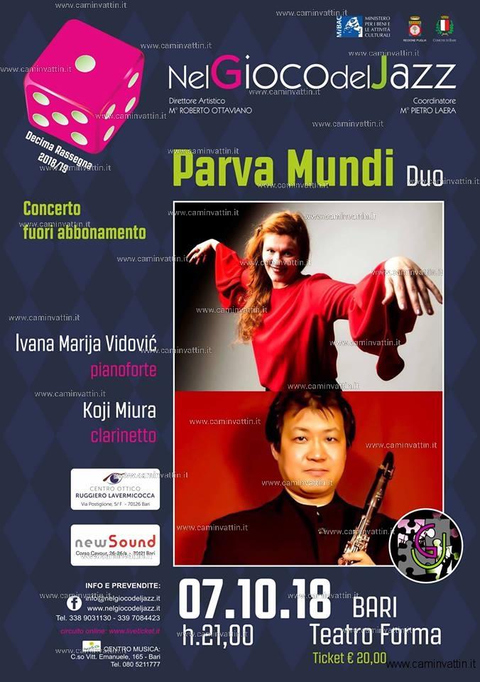 Duo Vidovic Miura al Teatro Forma