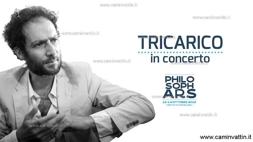 Francesco Tricarico in concerto gratuito Generazione PhilosophArs 2018